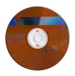 Cd Rw (regrabable) Hewlett Packard 700 Mb. (pqte. De 2 Unid)