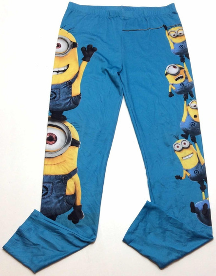 Calza Lycra Minion Despicable Me Usa Talle Xl
