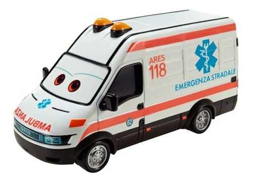 Cars Vehículo De Ambulancia De Gran Tamaño