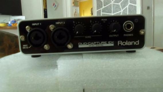 Placa De Som Duo Capture Ex - Roland Ua22