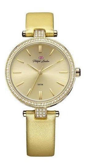 Relógio Philiph London Feminino Ref: Pl81019142f Social