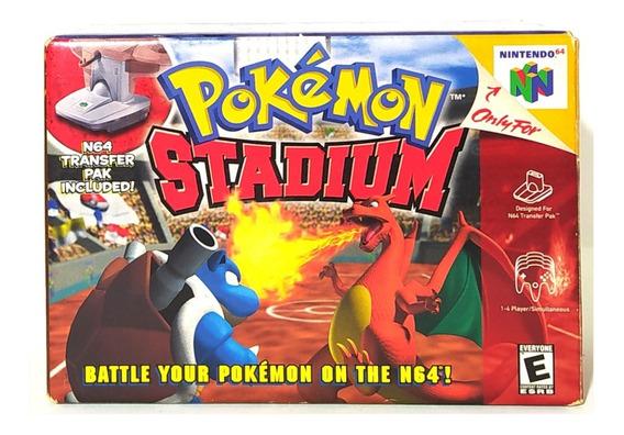 Pokemon Stadium Box Cib! Loja Campinas