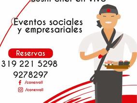 Taller De Sushi , Sushi Chef En Vivo , Eventos Sociales