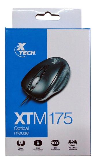 Mouse Conexion Usb Nuevo Xtech Sellado Original Alambrico