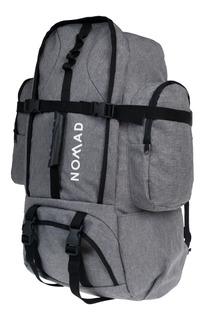 Mochila Mochilero Trekking Camping 60 Lts Edge Impermeable
