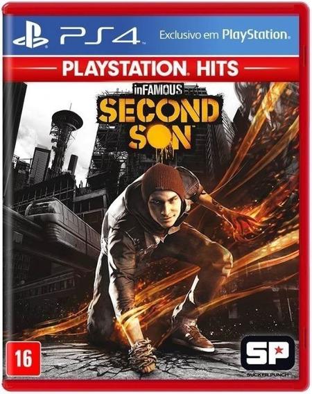Infamous Second Son Ps4 Playstation 4 Mídia Física Lacrado
