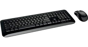 Kit Teclado E Mouse Wireless 850 Microsoft Abnt2 Ç Novo Nf