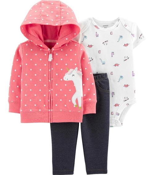 Conjuntos Carters 3 Piezas Para Niña Bebe Nuevos