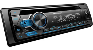 Autoestereo Pioneer Deh-s4200bt Cd Aux Usb Bluetooth 1 Din