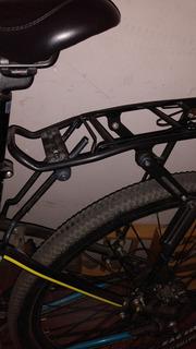 Porta Equipaje Bicicleta Para Freno Disco Regulable