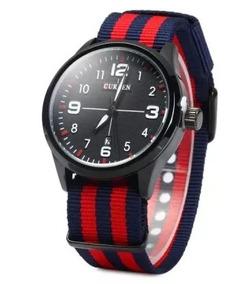 Relógio Curren 8195 Masculino Luxo Esportivo Original