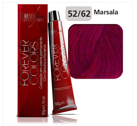 Coloração 52/62 Violeta Marsala - Forever Liss