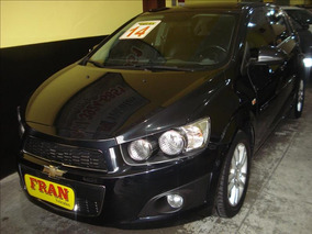 Chevrolet Sonic Ltz Automático Motor 1.6 2014 Preto