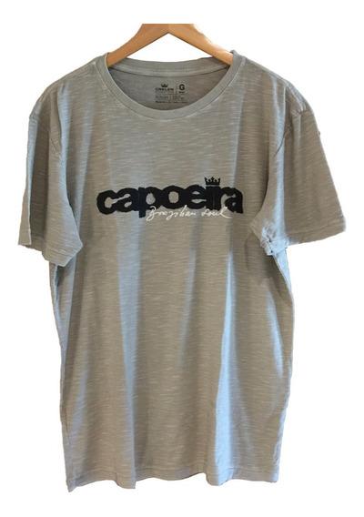 ( G ) Camiseta Osklen Rough Capoeira Brazilian Soul
