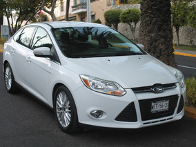 Ford Focus Sel At 2012 Serv. En Agencia, Garantia Ext.