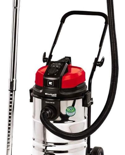 Aspiradora Sopladora Industrial Einhell 30l Polvo Agua Inox