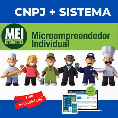 Cnpj + Sistema S/mensalidade Para Mei