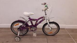 Bicicleta Aurorita Princesa - Rodado 15 - Muy Buen Estado