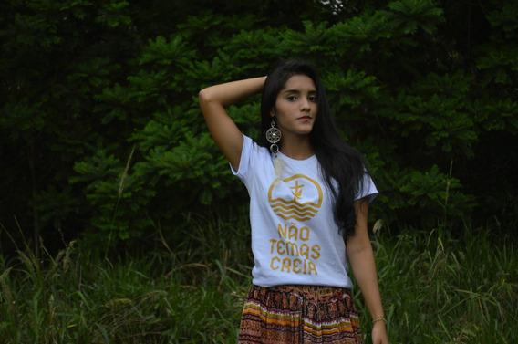 T-shirts Blusa B.loock Camiseta Feminina Cia Da Marca