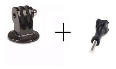 Parafuso Mais TriPod Adaptador Gopro Black Silver 2 3 4