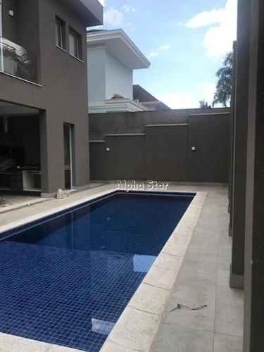 Imagem 1 de 18 de Casa Com 4 Dormitórios À Venda, 375 M² Por R$ 3.800.000 - Alphaville Conde Ii - Barueri/sp - Ca3483