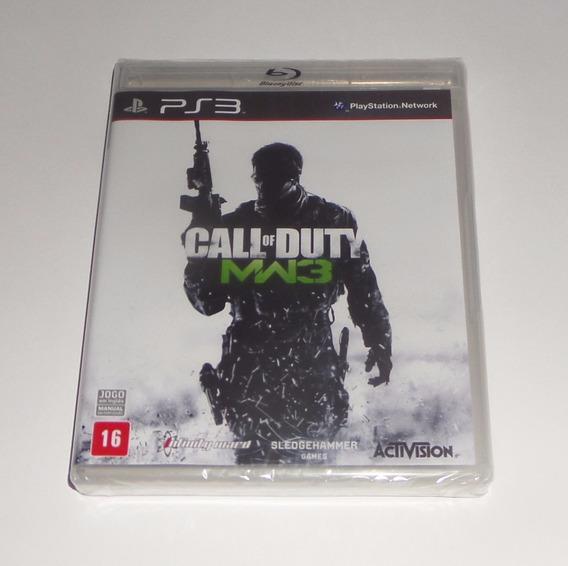 Call Of Duty Modern Warfare 3 Original Lacrado Física Ps3