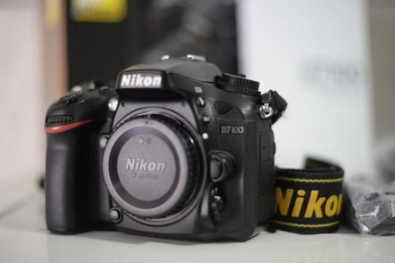 Câmera Nikon D7100 Excelente Apenas 23k Clicks. Ñ D7200