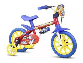 Bicicleta Infantil Aro 12 Nathor De 3 A 5 Anos