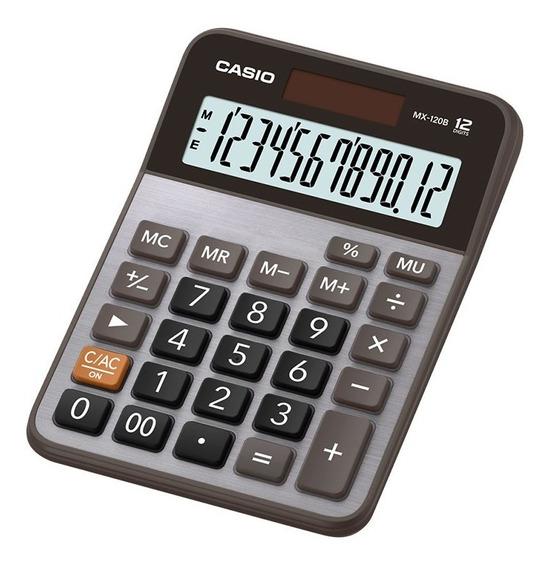 Calculadora De Escritorio Casio Mx-120b