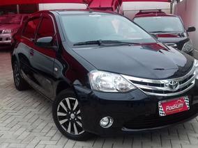 Toyota Etios Sedan 1.5 Platinum / Completo + Couro 2014