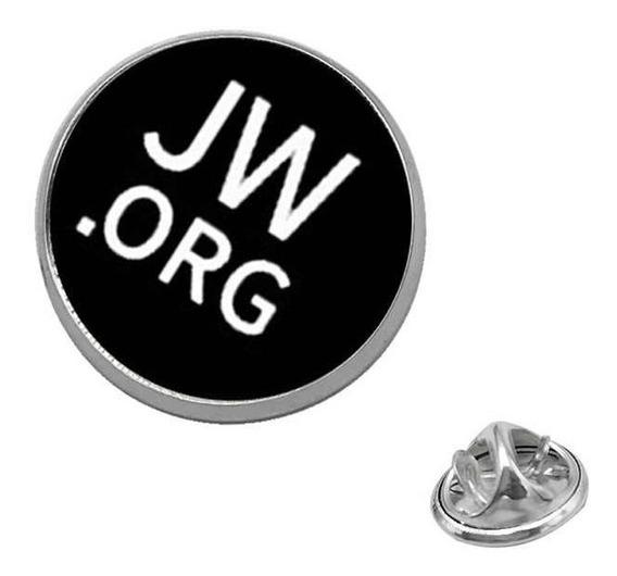 Broche Pin De Lapela Jw. Org Testemunhas De Jeová Ref. J023