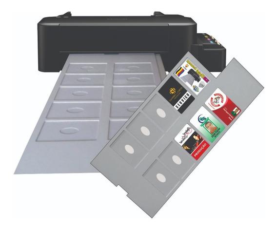 Impressora De Cartão Pvc Inkjet Epson Bandeja Para 10