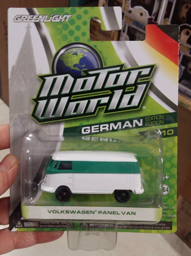 Greenlight Motor World German Vw Panel Van 1:64 Envio Gratis