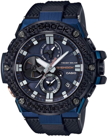 Reloj Casio Gs G-steel Solar Gstb100xb2acr E-watch