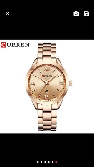 Curren Relógio De Ouro Das Mulheres Relógios Senhoras Relógi