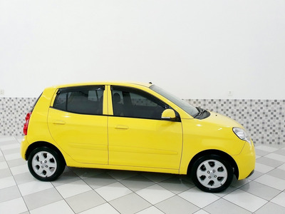 Kia Picanto Ex3 1.0 Gasolina 2010 Amarelo Automático