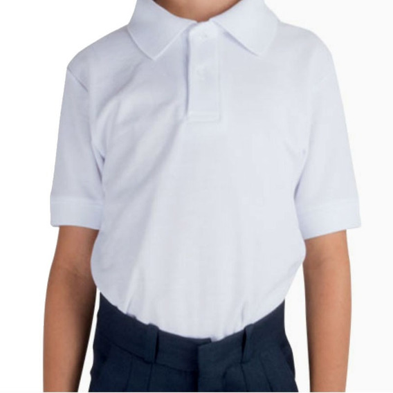 Playera De Niño Para Sublimar Tipo Polo