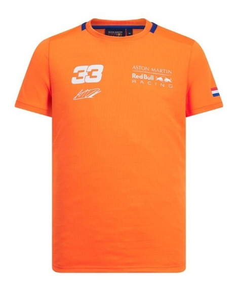 Playera Red Bull Equipación Max Verstappen Dry-fit **2019**
