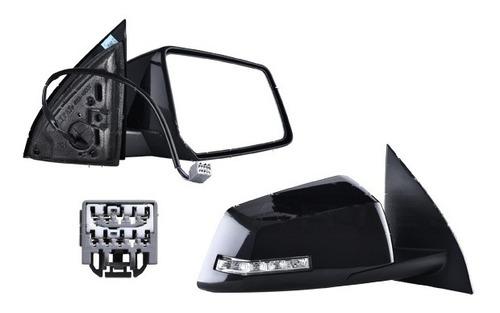 Imagen 1 de 1 de Espejo Chevrolet Traverse 2009 A 2017/acadia 07-16 Electrico C/desempañante C/direccional Pto Ciengo Interno P/pintar Sl