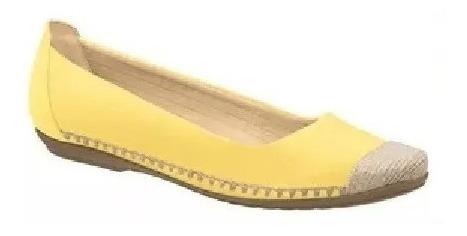 Sapatilha Alpargata Piccadilly Amarelo Corda 240047