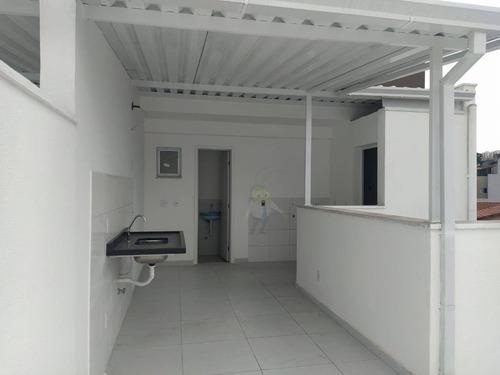 Imagem 1 de 22 de Cobertura Com 2 Dormitórios À Venda, 97 M² Por R$ 400.000 - Jardim Ocara - Santo André/sp - Co0407