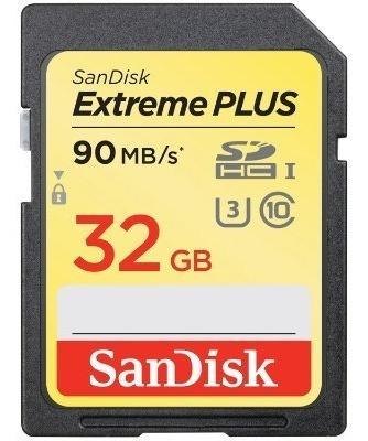 Cartão Sandisk Sd Extreme 32gb 90 Mb/s
