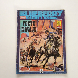 Hq Graphic Novel Blueberry Charlier E Moebius Forte Navajo