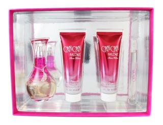 Set Can Can Burlesque 4 Pzs 100 Ml Eau De Parfum Spray + Bod