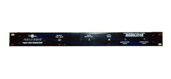 Modulador Profissional Proeletronic Pqrm-9000 Canal H Adj