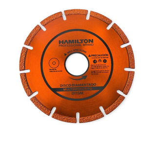 Disco Diamantado 115 Mm Multiuso Metal Mader Hamilton D115m