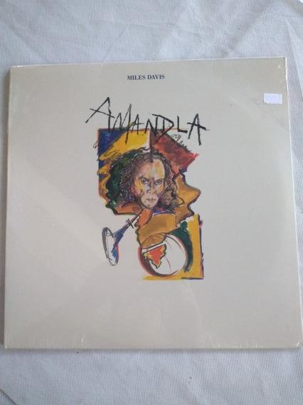 Vinilo Miles Davis Amandla Nuevo Cerrado Usa En La Plata