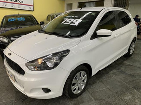 Ford Ka 1.0 Se 2015 Branco - Parcelas De $799