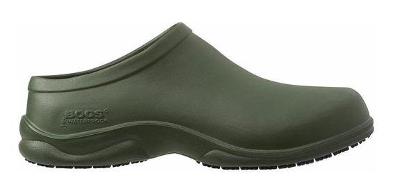 Zapatos Para Chef, Medico Bogs Verde Olivo
