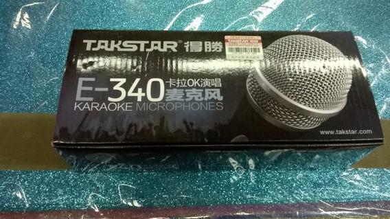 Microfono Takstar E340 Para Karaoke Y Conciertos